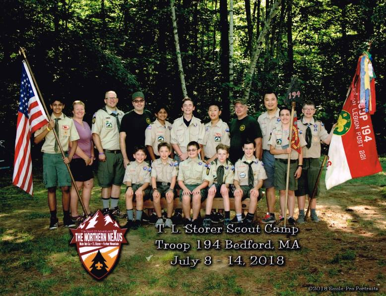 Storer Camp 2018 group photo